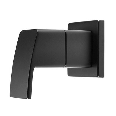Kenzo Diverter Trim with Lever Handle Finish: Matte Black