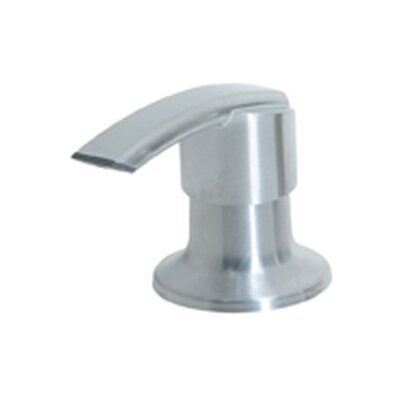 Soap Dispenser with Flat Nozzle Finish: Stainless Steel