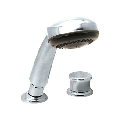 Roman Diverter Hand Shower with Knob Handle Finish: Rustic Bronze