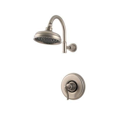 Ashfield Volume Control Tub and Shower Faucet Finish: Rustic Peweter