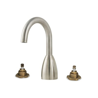 Contempra Two Handle Deck Mount Roman Tub Faucet Trim Finish: Brushed Nickel