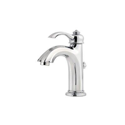 Portola Single Handle Centerset Standard Bathroom Faucet with Drain Assembly Finish: Polished Chrome