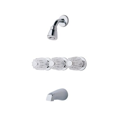 01 Series Dual Funtion Tub and Shower Faucet with Knob Handles