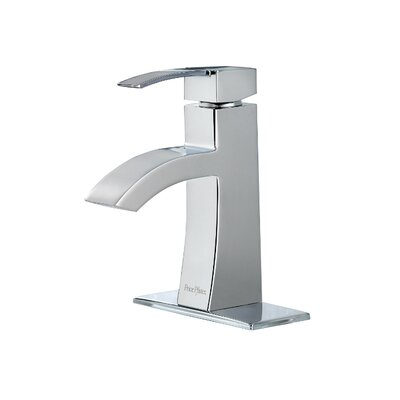 Bernini Single Handle Single Hole Standard Bathroom Faucet with Drain Assembly Finish: Polished Chrome