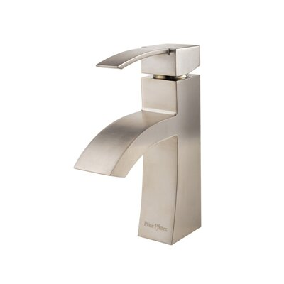 Bernini Single Handle Single Hole Standard Bathroom Faucet with Drain Assembly Finish: Brushed Nickel