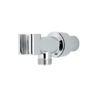 Adjustable Shower Arm Mount Finish: Polished Chrome