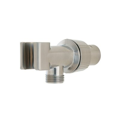 Adjustable Shower Arm Mount Finish: Brushed Nickel