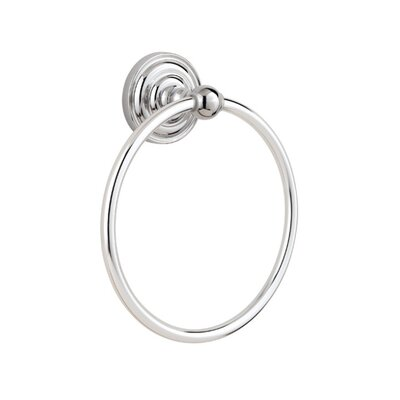 Redmond Wall Mounted Towel Ring Finish: Polished Chrome
