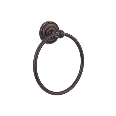 Redmond Wall Mounted Towel Ring Finish: Tuscan Bronze