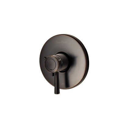 Thermostatic Volume Control Shower Faucet Trim Finish: Tuscan Bronze