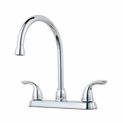 Double Handle Kitchen Faucet Finish: Tuscan Bronze