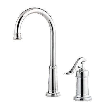 Ashfield Single Handle Deck Mounted Bar Faucet Finish: Polished Chrome