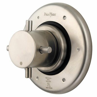 Universal Wall Mount 016 Series Wall Mount Diverter Trim Finish: Brushed Nickel