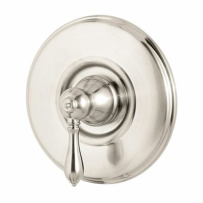Marielle Single Handle Tub and Shower Valve Only Trim Finish: Brushed Nickel