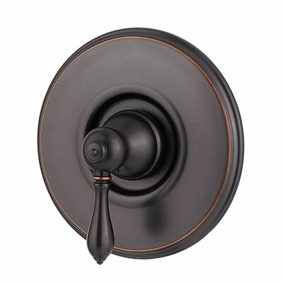 Marielle Single Handle Tub and Shower Valve Only Trim Finish: Tuscan Bronze
