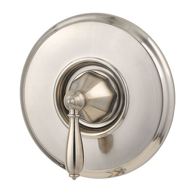 Portola Single Handle Tub and Shower Valve Only Trim Finish: Brushed Nickel