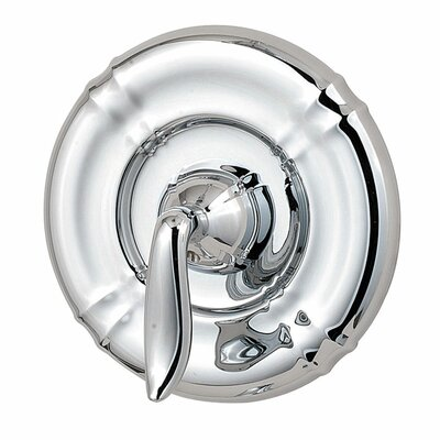 Santiago Single Handle Tub and Shower Valve Only Trim Finish: Polished Chrome