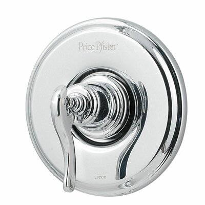 Ashfield Single Handle Tub and Shower Valve Only Trim Finish: Polished Chrome