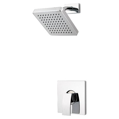 Kenzo Shower Faucet Trim with Knob Handle Finish: Polished Chrome