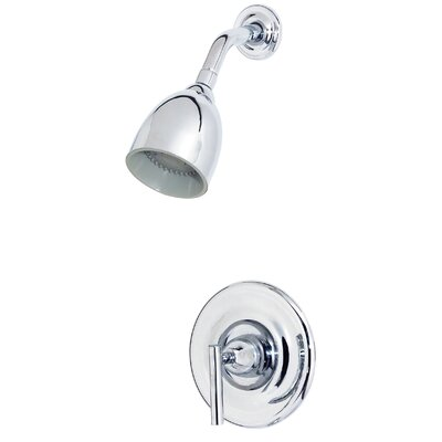 Contempra Volume Control Shower Faucet with Lever Handle Finish: Polished Chrome