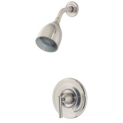 Contempra Volume Control Shower Faucet with Lever Handle Finish: Brushed Nickel