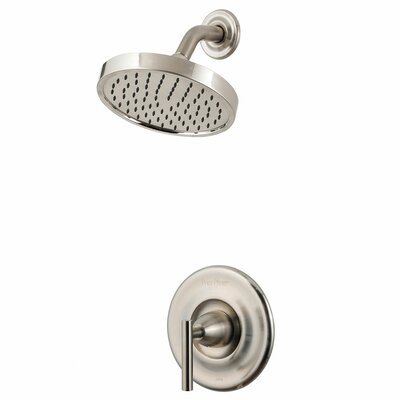 Contempra Shower Faucet Trim with Lever Handle Finish: Brushed Nickel