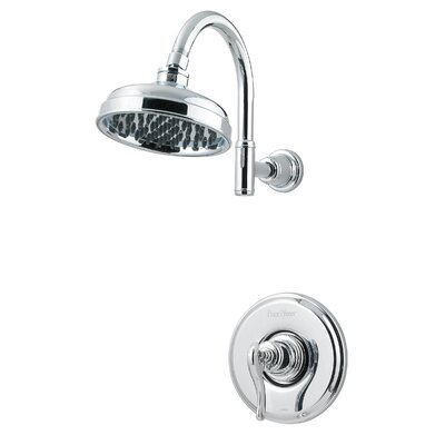 Ashfield Volume Control Tub and Shower Faucet Finish: Polished Chrome