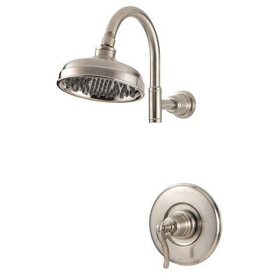 Ashfield Volume Control Tub and Shower Faucet Finish: Brushed Nickel