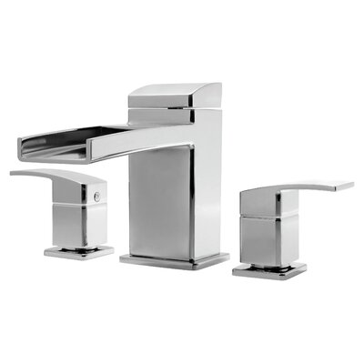 Kenzo Two Handle Deck Mount Roman Tub Faucet Trim Finish: Polished Chrome