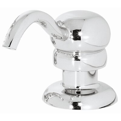 Marielle Soap Dispenser Finish: Polished Chrome