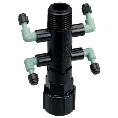 Quad Riser Adapter Manifold Full-Flow