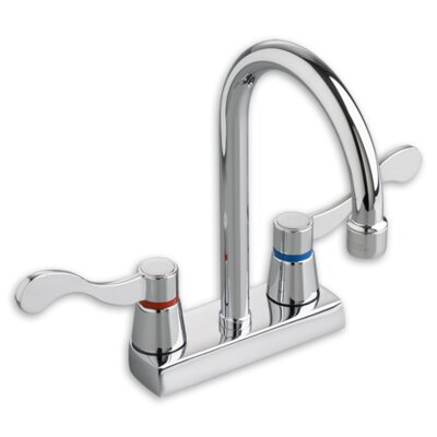 Heritage Double Handle Kitchen Faucet Finish: Brass
