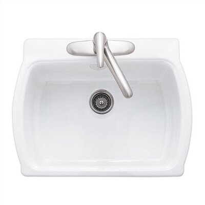 Low Price American Standard Chandler Americast Single Bowl Kitchen Sink With Three Hole Configuartion Finish