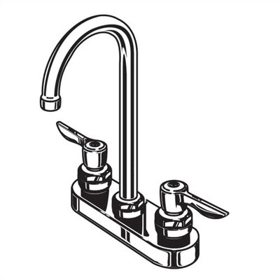 American Standard Monterrey Centerset Bathroom Faucet with Double Lever Handles at Sears.com