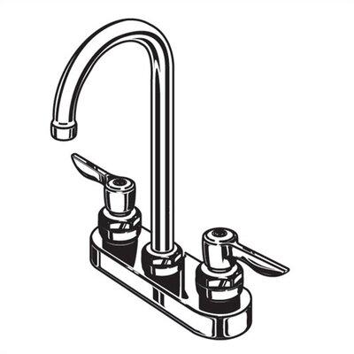Monterrey Centerset Bathroom Faucet with Double Lever Handles