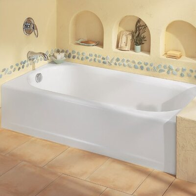 Princeton 60 Quot X 30 Quot Recess Bathtub With Integral Overflow