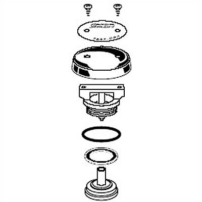Heritage Faucet Vacuum Breaker Repair Kit For Built-In Exposed Service Sink
