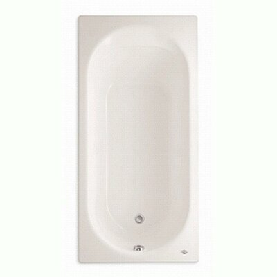 Stratford Americast 66 x 32 Drop-In Soaking Bathtub Color: White