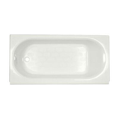 Princeton 60 x 30 Soaking Bathtub Finish: White, Drain Location: Left-Hand
