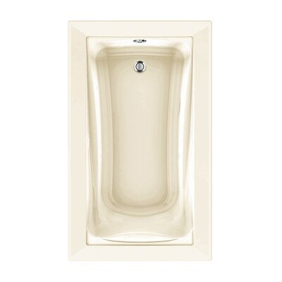 Green Tea 60 x 36 Air Bathtub Finish: Linen