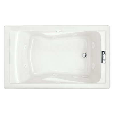 Evolution 60 x 36 Antimicrobial AlphaSan Air Tub