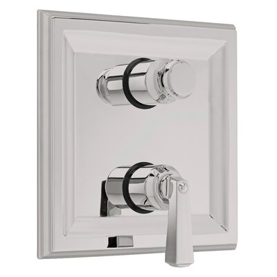 Town Square Two Handle Dual Shower Faucet Trim Kit Finish: Satin Nickel