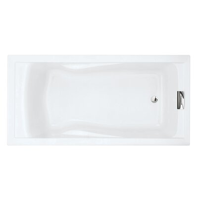 Evolution 72 x 36 Deep Soaking Bathtub Finish: Arctic White