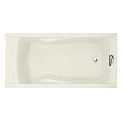 Evolution 72 x 36 Deep Soaking Bathtub Finish: Linen