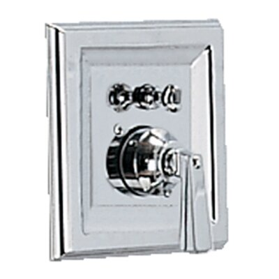 Town Square Shower Valve Trim Kit With Metal Lever Handle & EverClean Finish: Polished Chrome