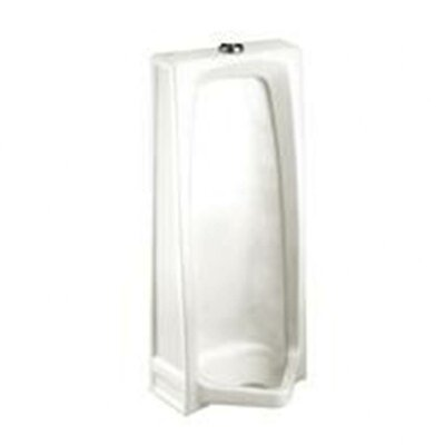 Stallbrook Sloping Front Stall Urinal and 0.75 Top Spud Finish: White