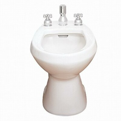 Cadet 14.5 Floor Mount Bidet Finish: Linen