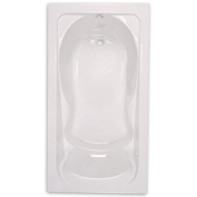 Cadet 60 x 36 Soaking Bathtub Finish: White