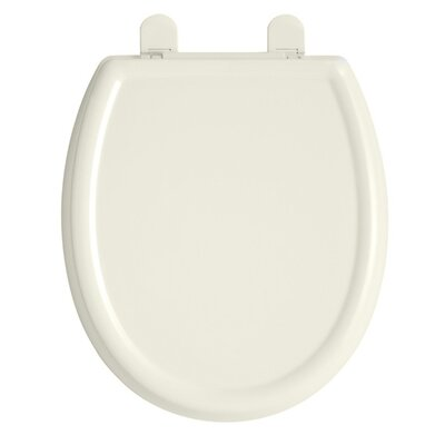 Cadet 3 Slow Close Round Toilet Seat Finish: Linen