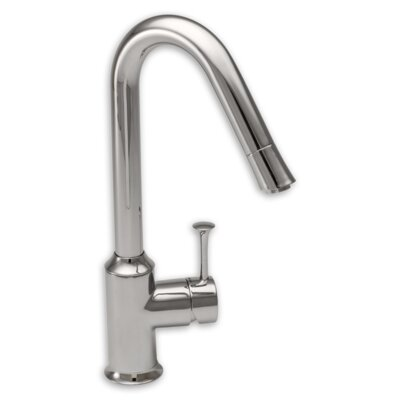 Pekoe Single Handle Single Hole kitchenFaucet with Hi Flow Spout Finish: Polished Chrome